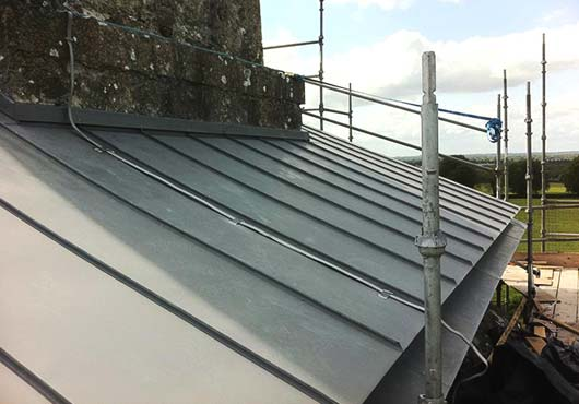 Zinc Roof Extensions F Amp G Roofing Contractors