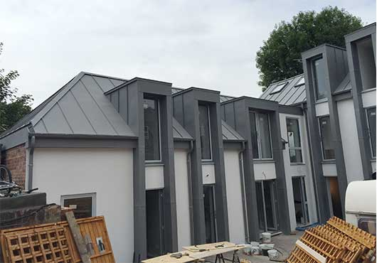 Zinc Roofing Project 10 F Amp G Roofing Specialists